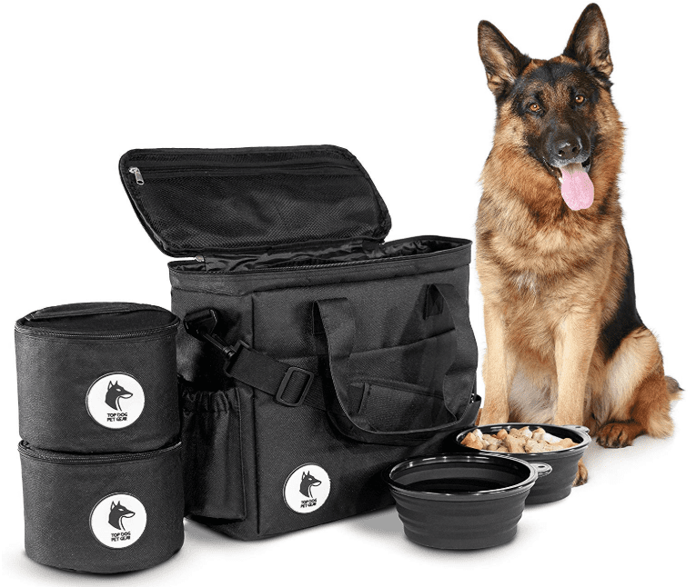 travel bag for pets in camping essentials for dogs // tread magazine
