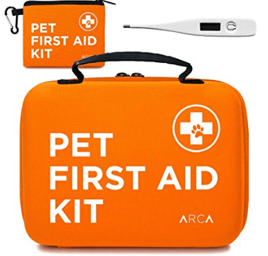 pet first aid kit in camping essentials for dogs // tread magazine