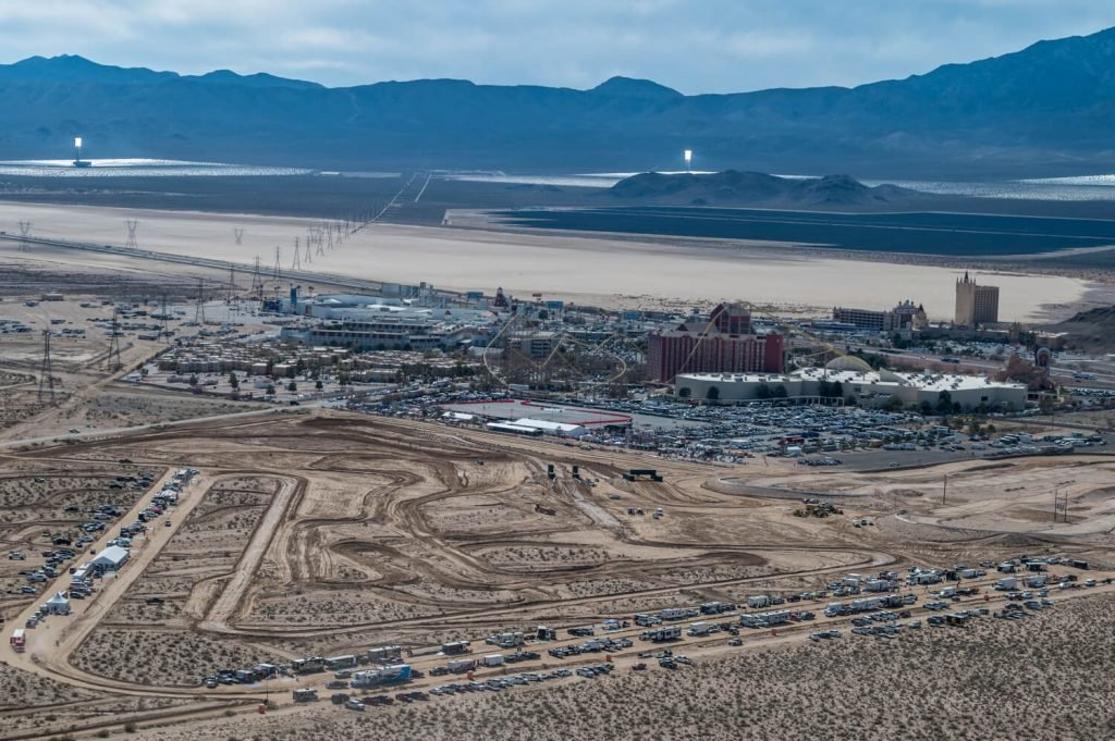 Primm, Nevada, and the 2020 Mint 400 course.