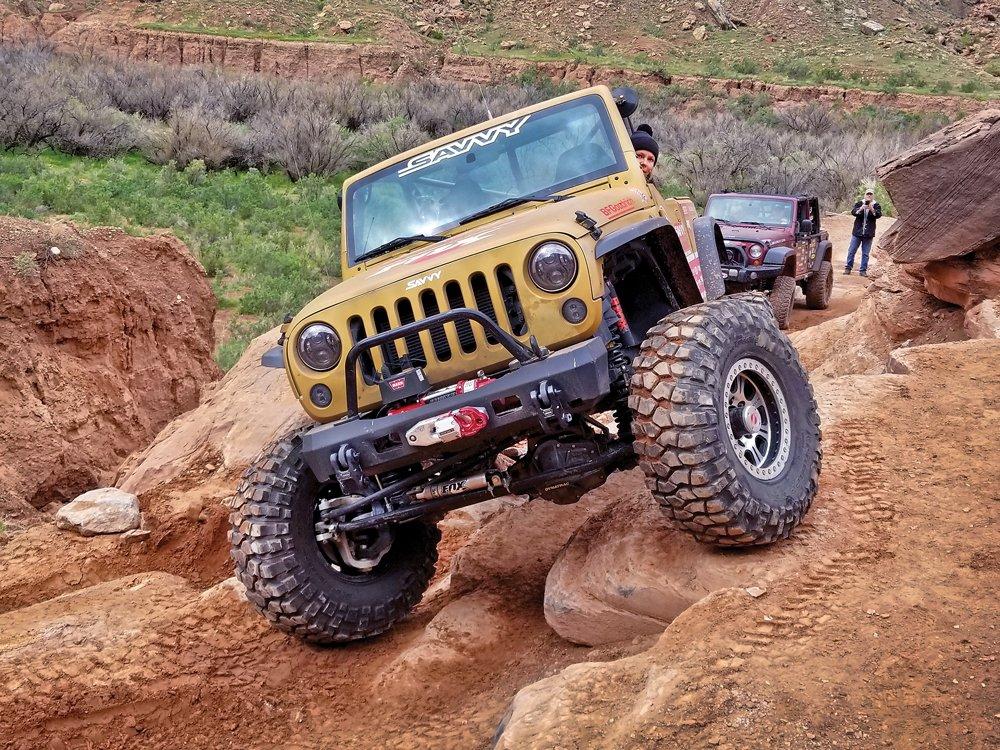 """Jessi Combs """"Goldie Rocks"""" Jeep"""