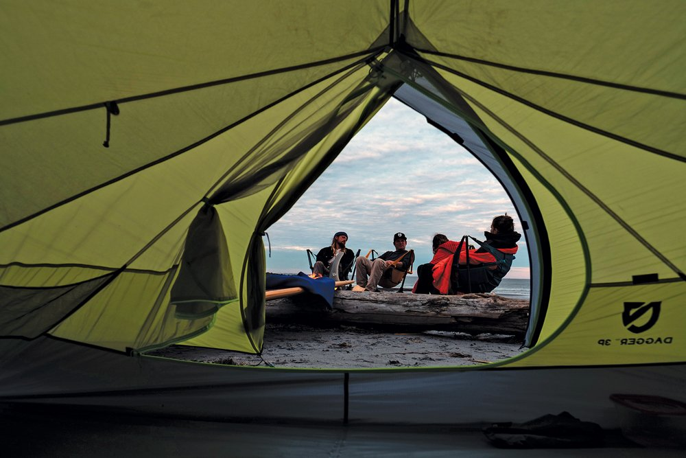 ground tent with insulation