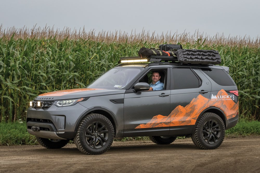 Justin Monnin in his Discovery