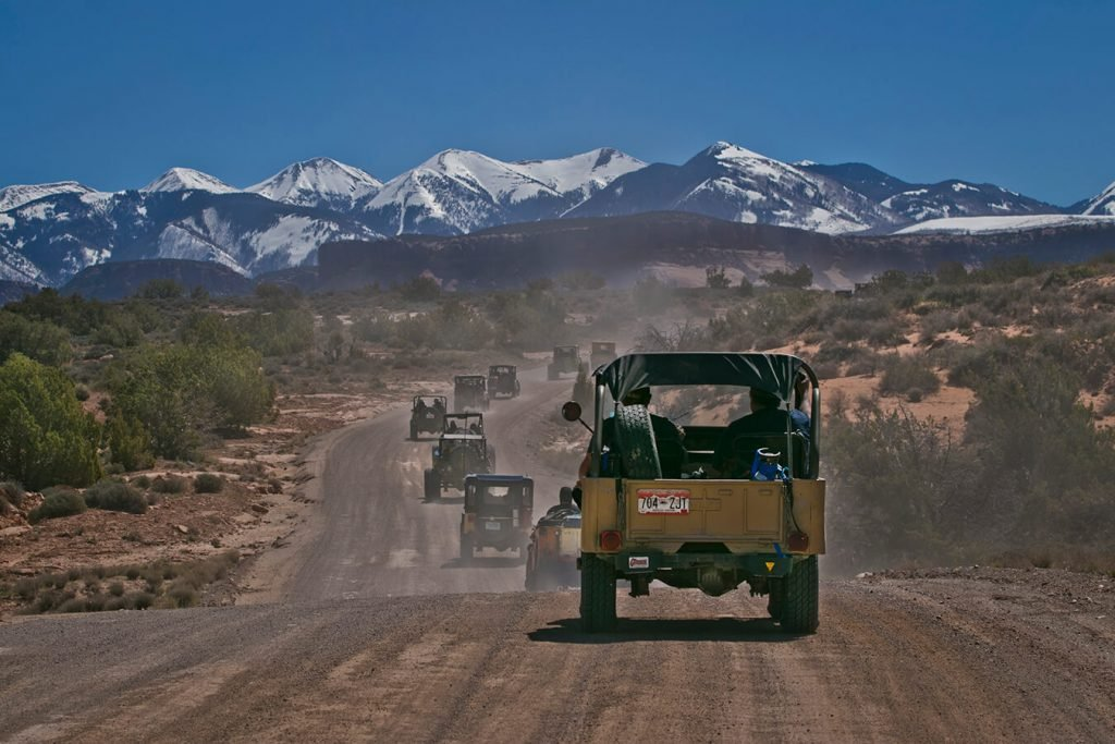Flat Fenders Driving Moab