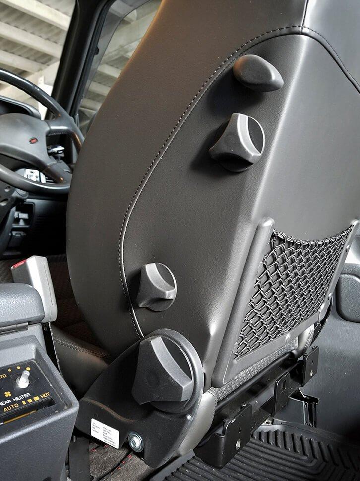 Scheel-Mann seat adjustments