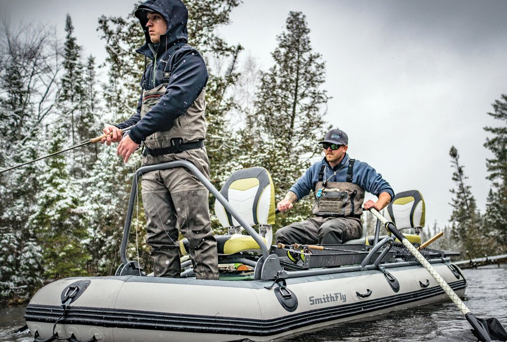 streamer fishing downstream