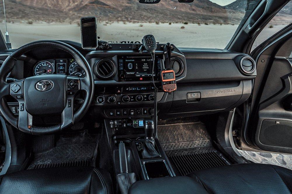 Tacoma TRD Off-Road cockpit