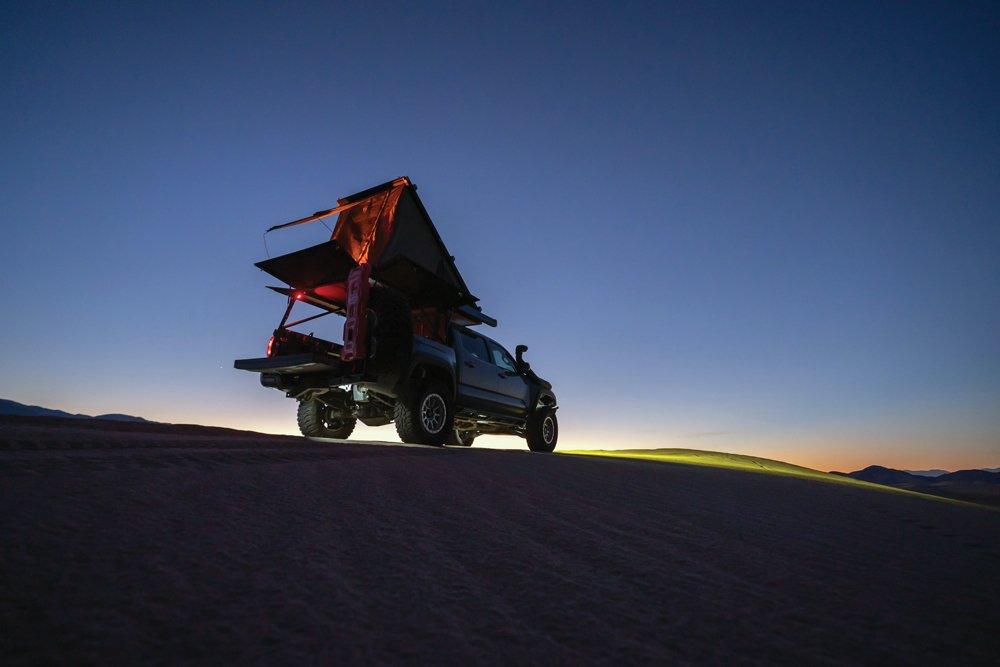 Go Fast Camper on Tacoma TRD Off-Road