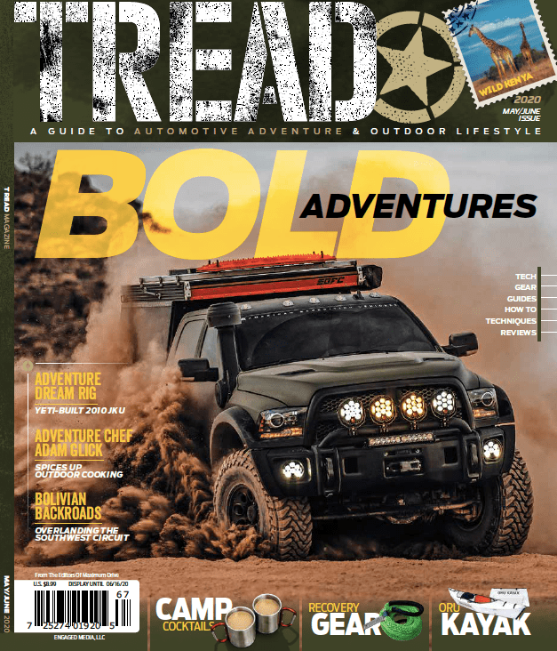 TREAD May/June 2020 Issue cover