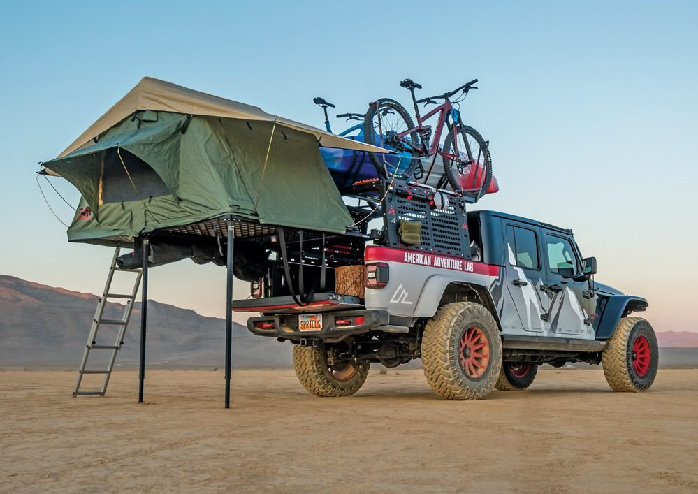 Overlanding Offroad Wasatch Basin tent