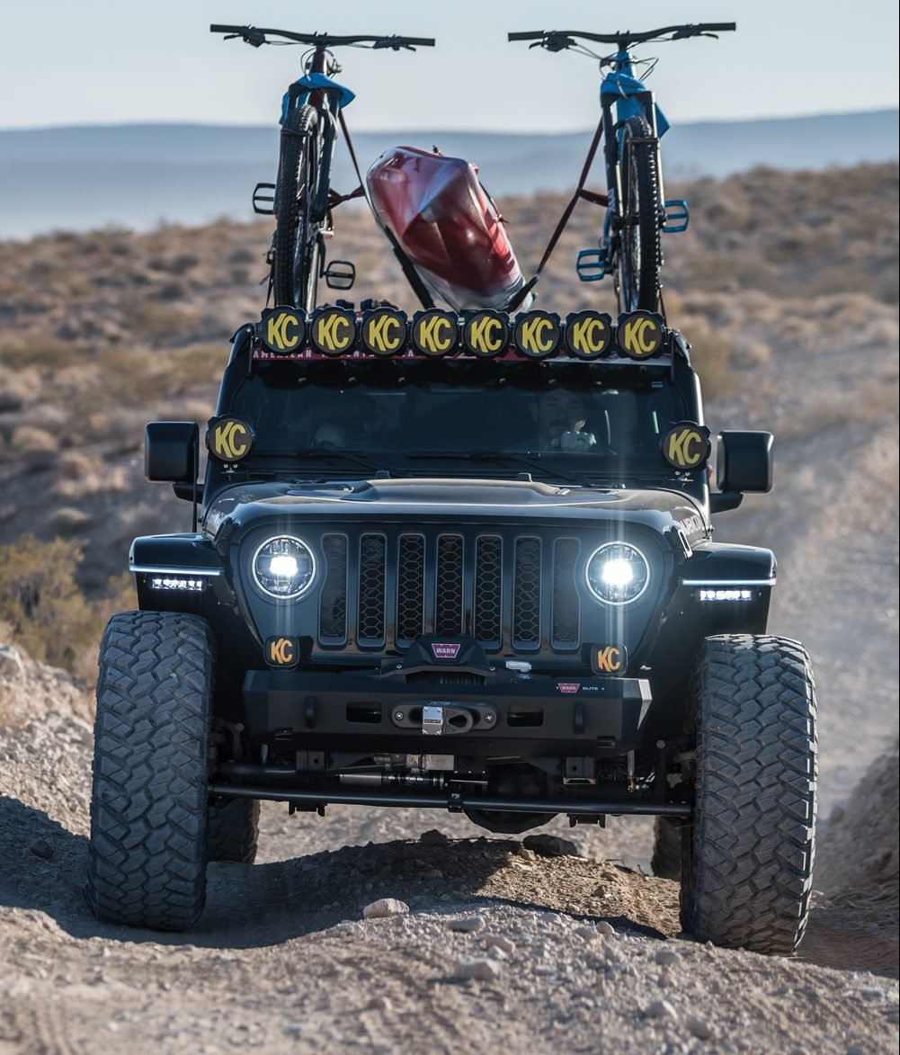 Jeep Gladiator front view