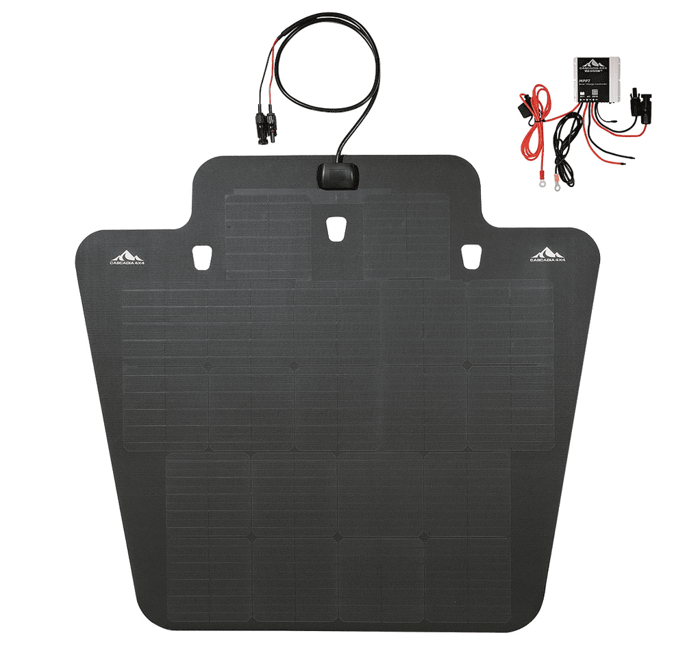 Cascadia 4x4 JK Hood-Mounted Solar Panel