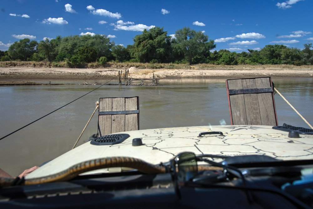 Ferry travel in Zambia