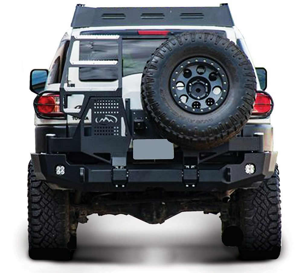 Dual Swing Rear Bumper