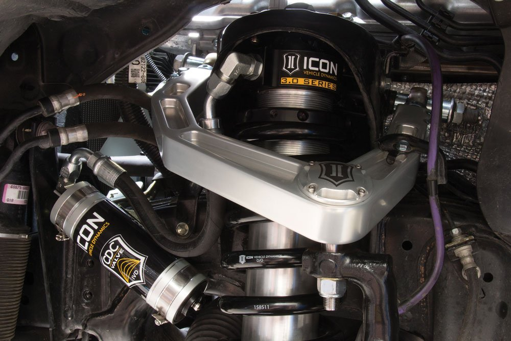 ICON Vehicle Dynamics 3.0 Series and CDC valve