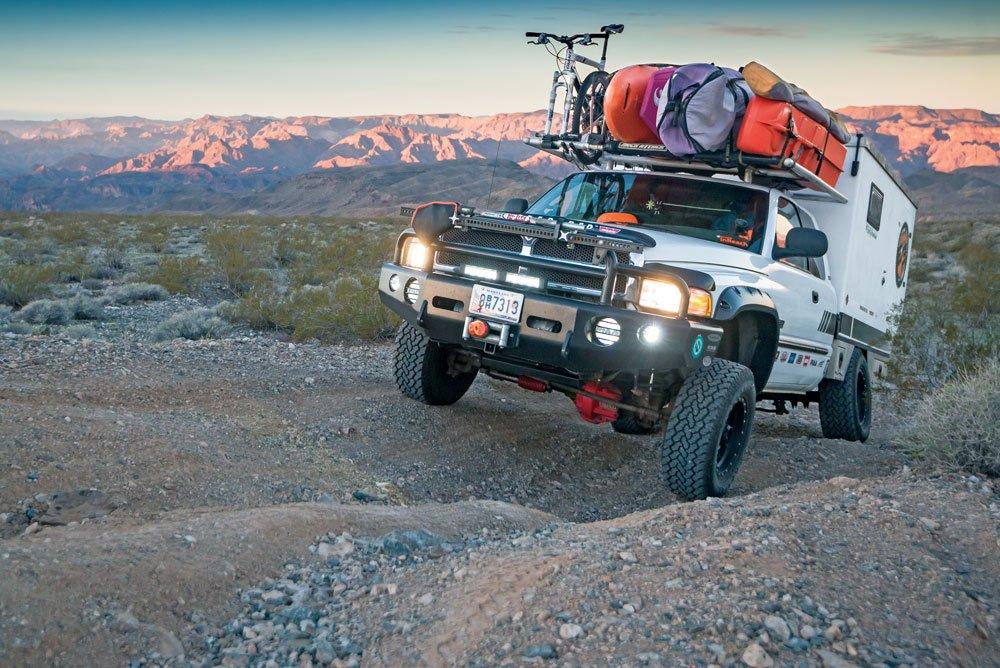 truck camper off-road