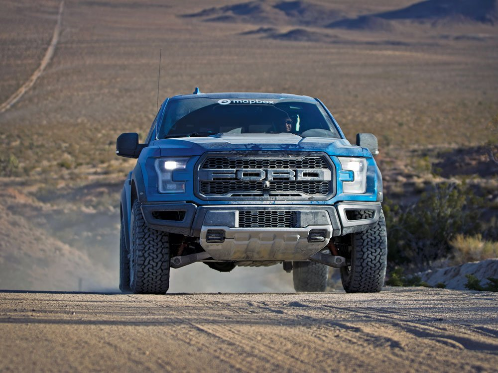 Team Escape the Paved Ford Raptor