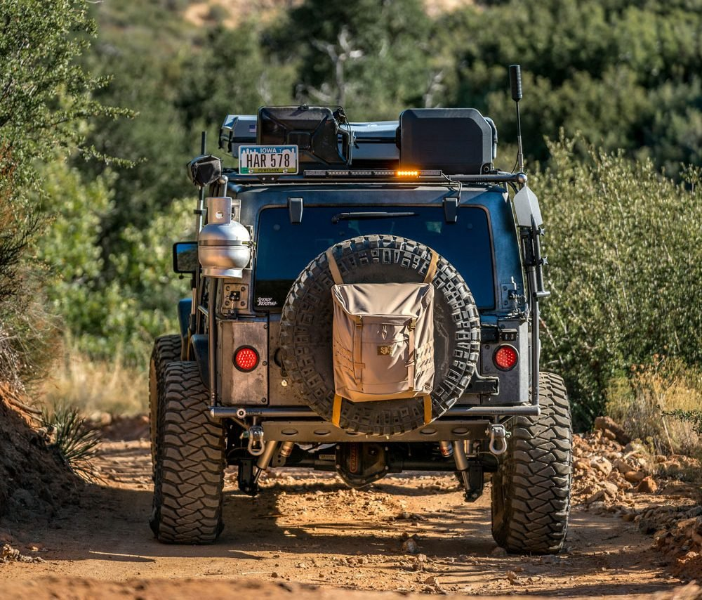 Rearview of Adventure Dream Rig