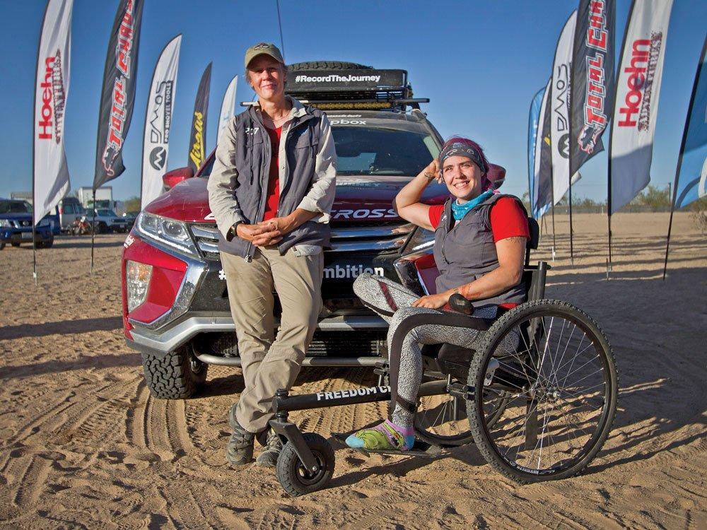 Team Record The Journey Rebelles Rachael Ridenour and Karah Behrend