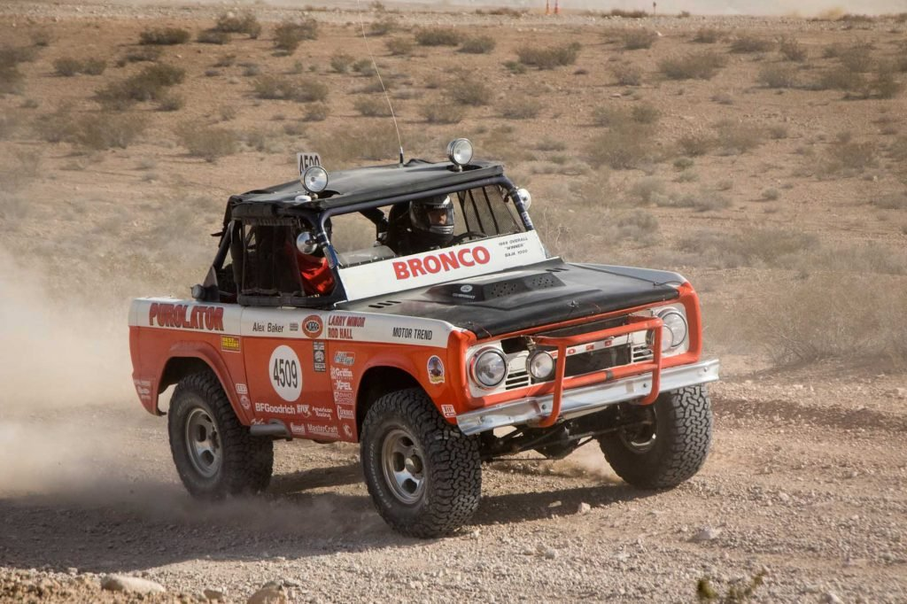 Ford Bronco Competes in Mint 400 Race