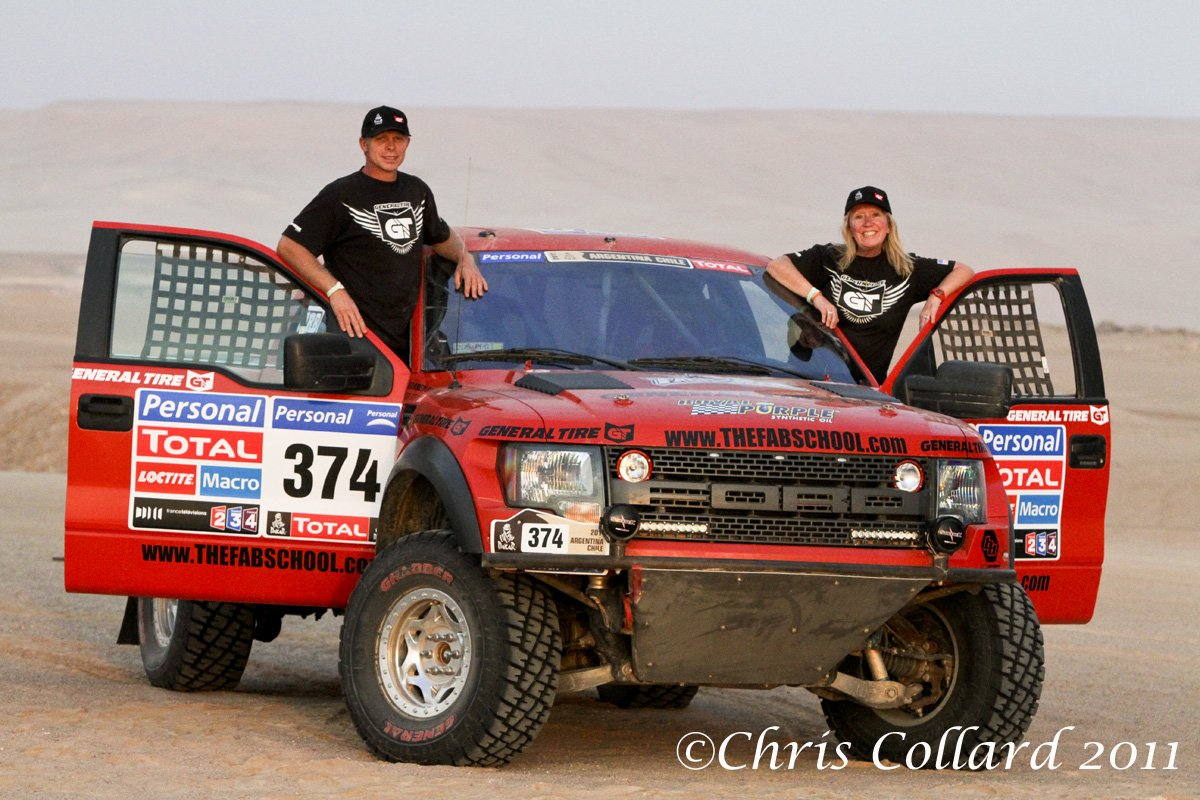 Ford Raptor Competes in Dakar Race