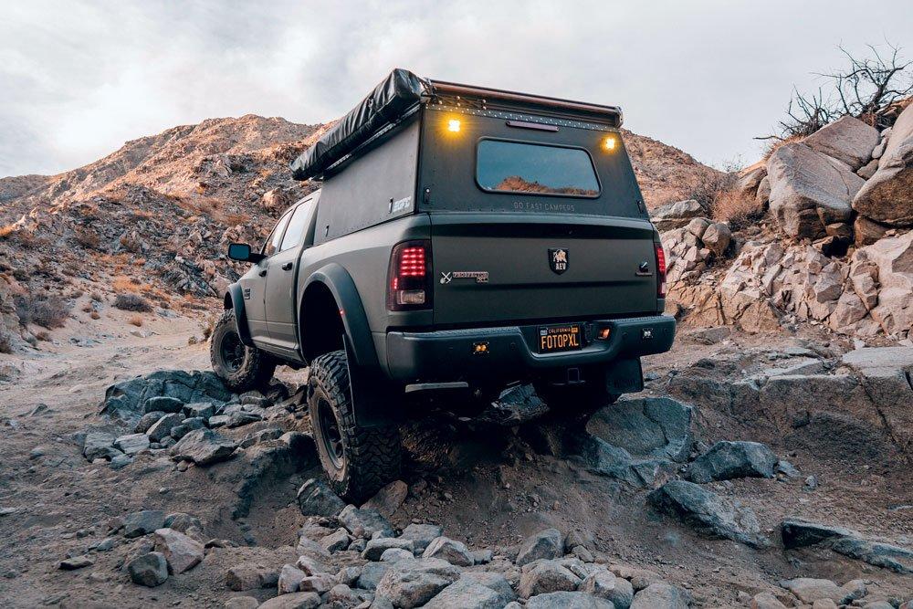 AEV Prospector tackling rough environments