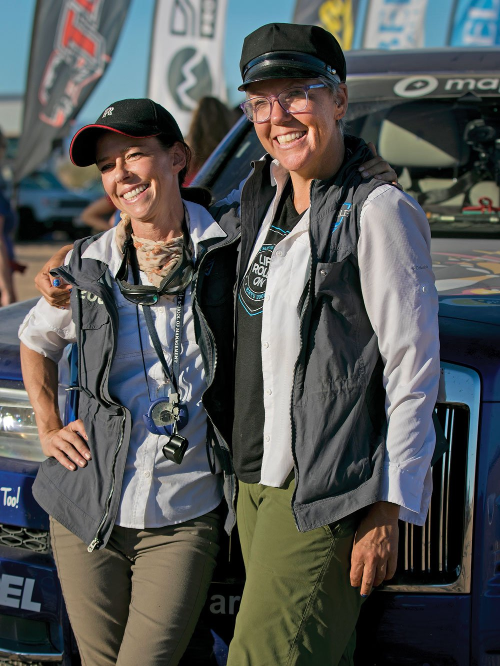 2019 Rebelle Rally Women Emme Hall and Rebecca Donaghe
