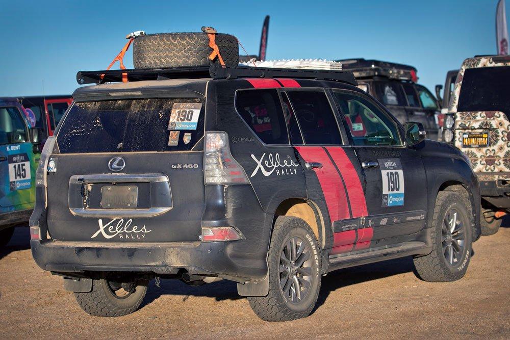 Team X Elles 2019 Lexus GX 460 rearview
