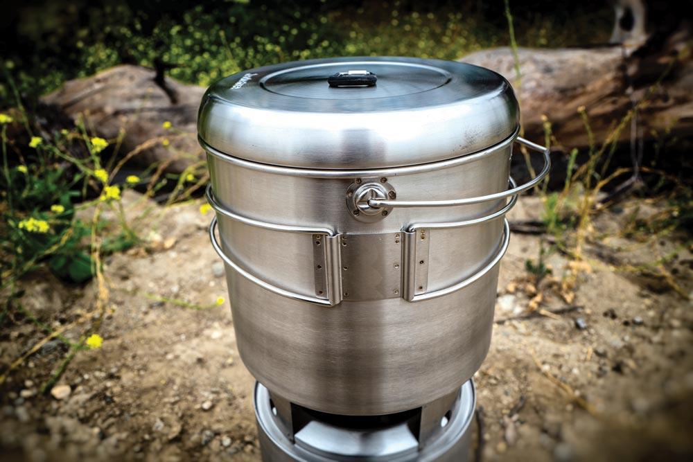 Solo Stove Campfire and Pot 4000