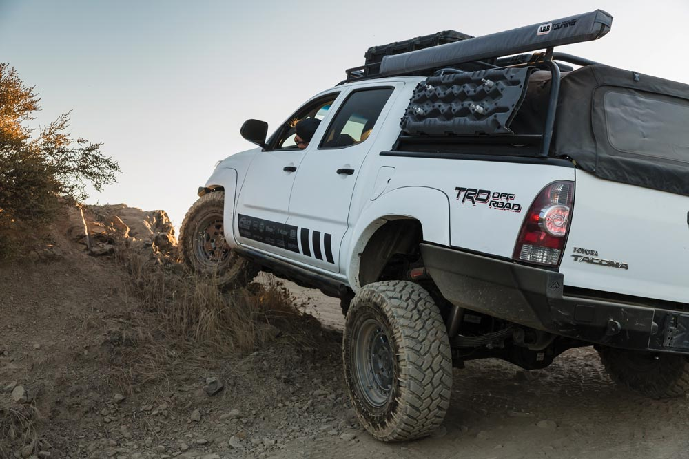 Toyota Tacoma TRD Off-Road suspension capabilities