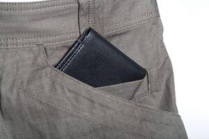 wallet in pant pocket