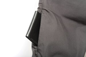wallet in side pocket