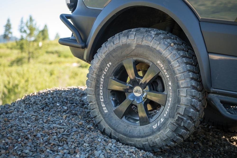 37-inch BFGoodrich tires