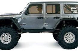 SCX10 III, a radio-controlled Jeep Wrangler Rubicon