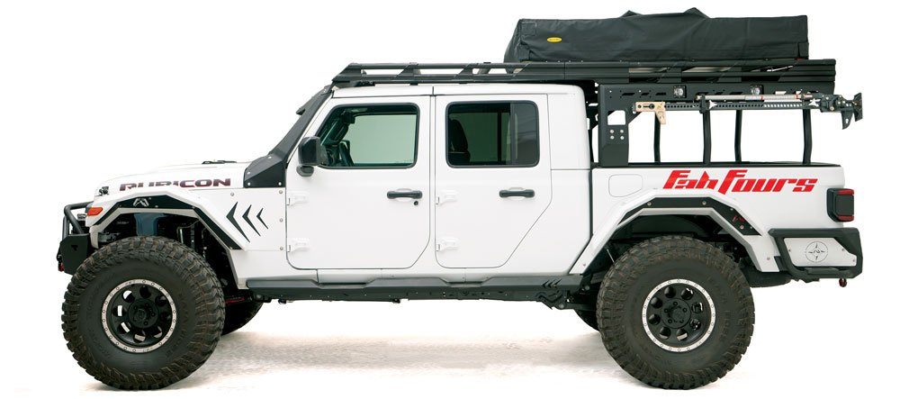 Fab Fours Overland Rack for Jeep Gladiator