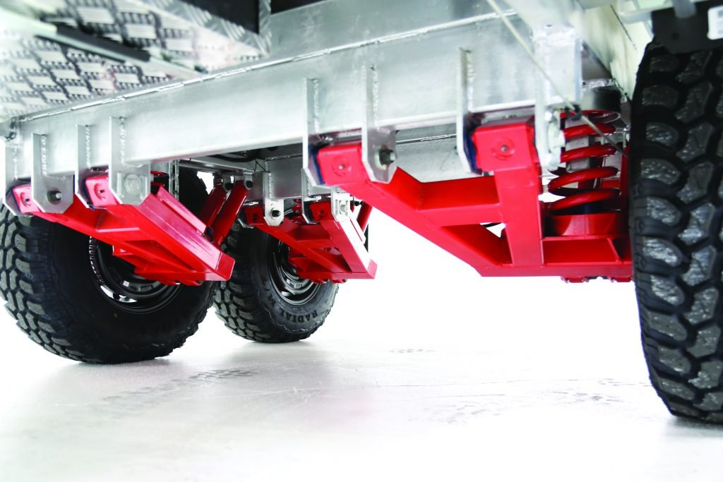 Highly robust independent suspension system