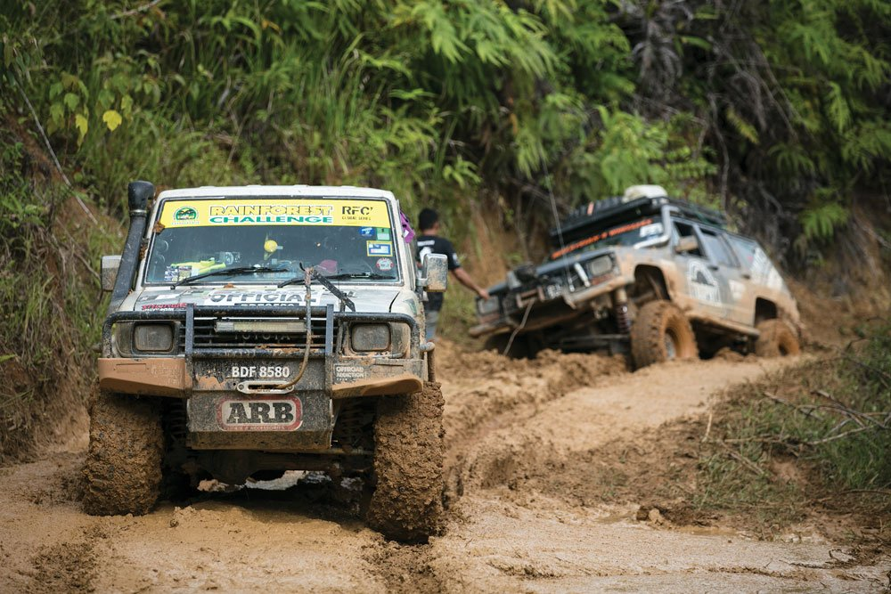 Pressing on during the challenge of the Malaysian Highlands