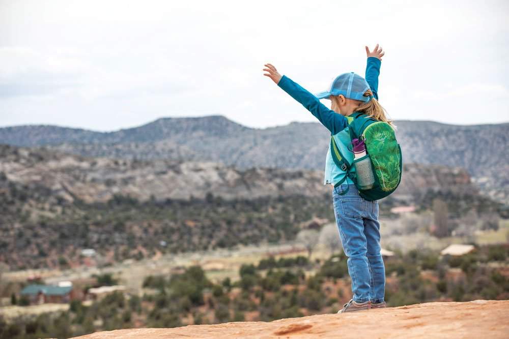 Backpacks for kids to carry their own gear
