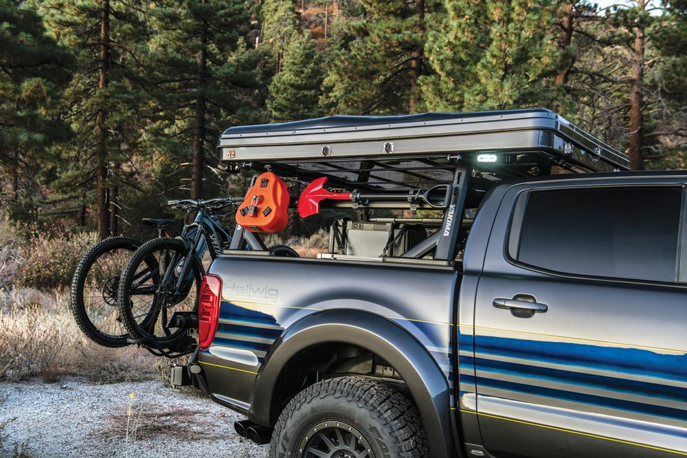 This Ford Ranger is ready for adventure