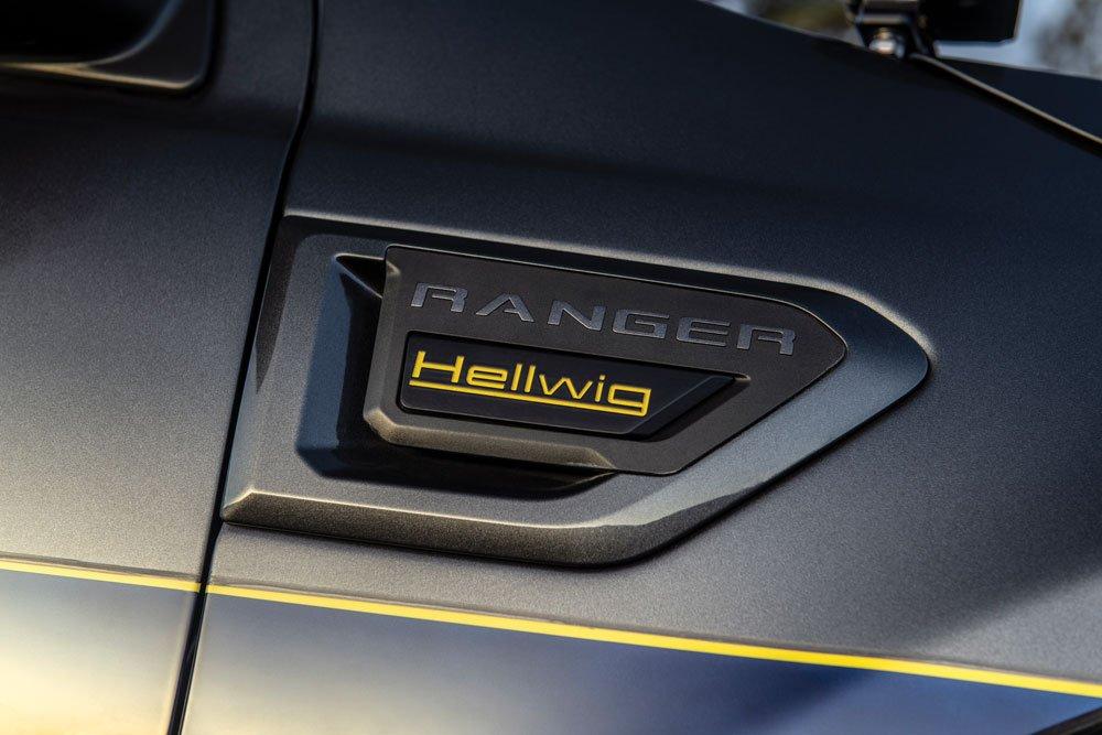 Custom Hellwig side badges