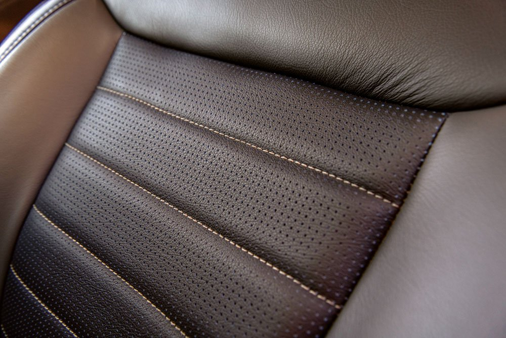 Custom seats add a personalized touch and extra comfort