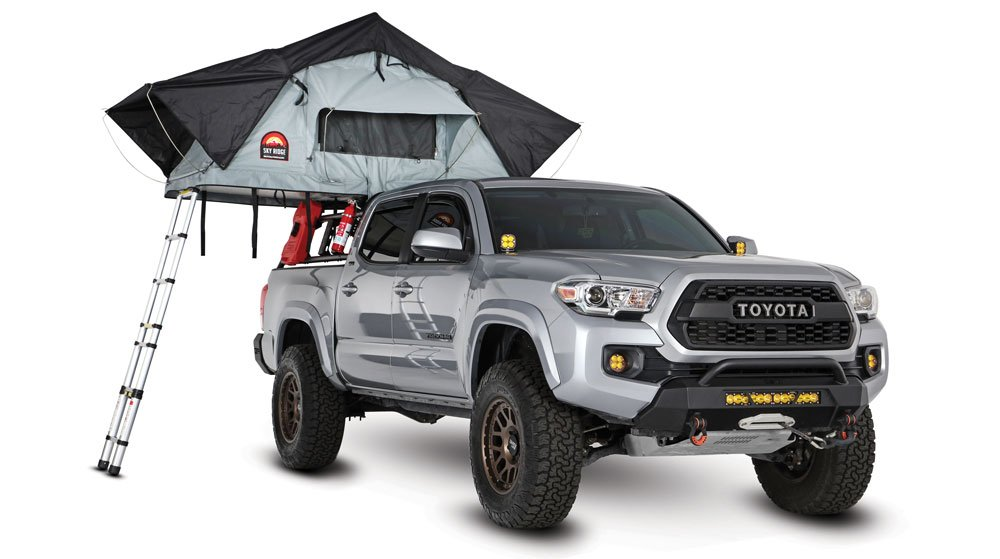 Outdoor automotive accessories: Body Armor 4x4 Sky Ridge Pike Tent