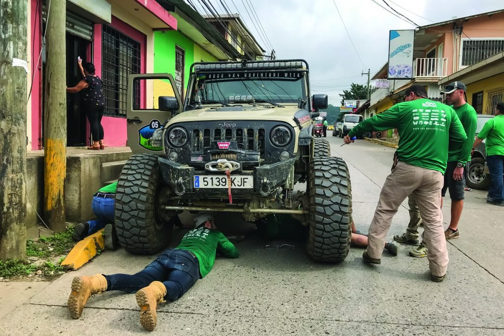 Breaking in a new Jeep before Adventure Week