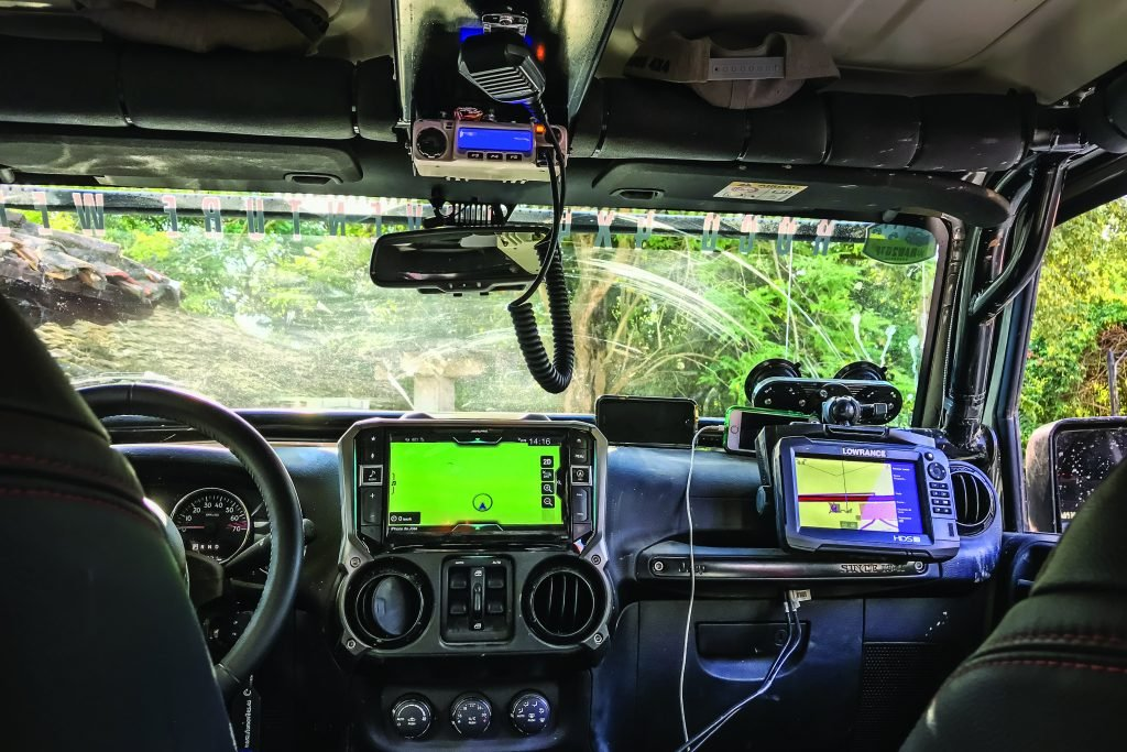 Off-road navigation system