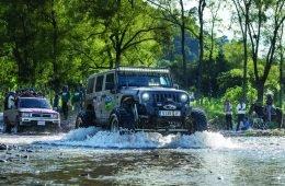 This Jeep Rubicon makes a splash
