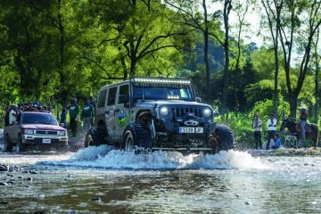 This Jeep Rubicon makes a splash
