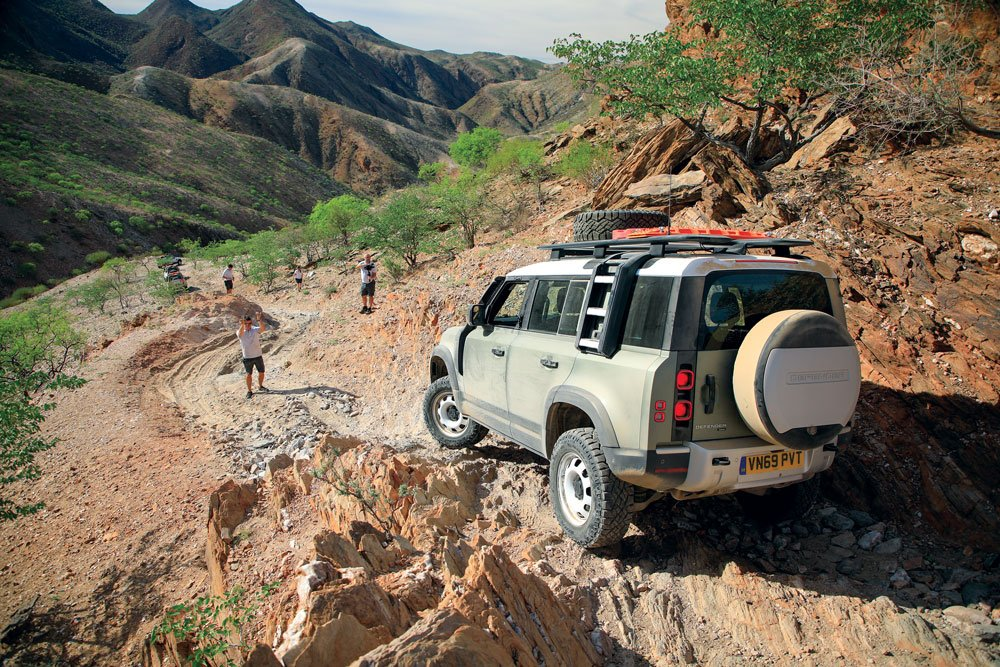 Driving on remote roads in Africa