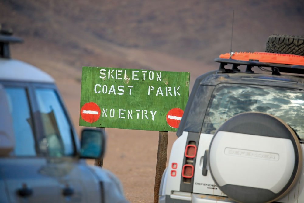 Skeleton Coast, one of the least-accessible places on Earth