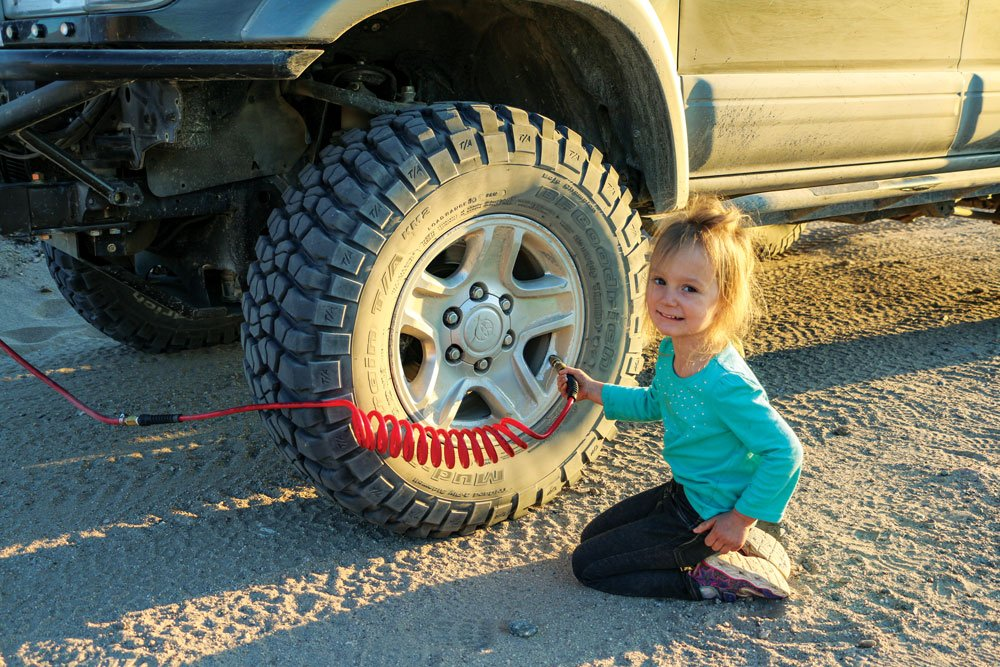 Travel with kids and have them help with easy tasks