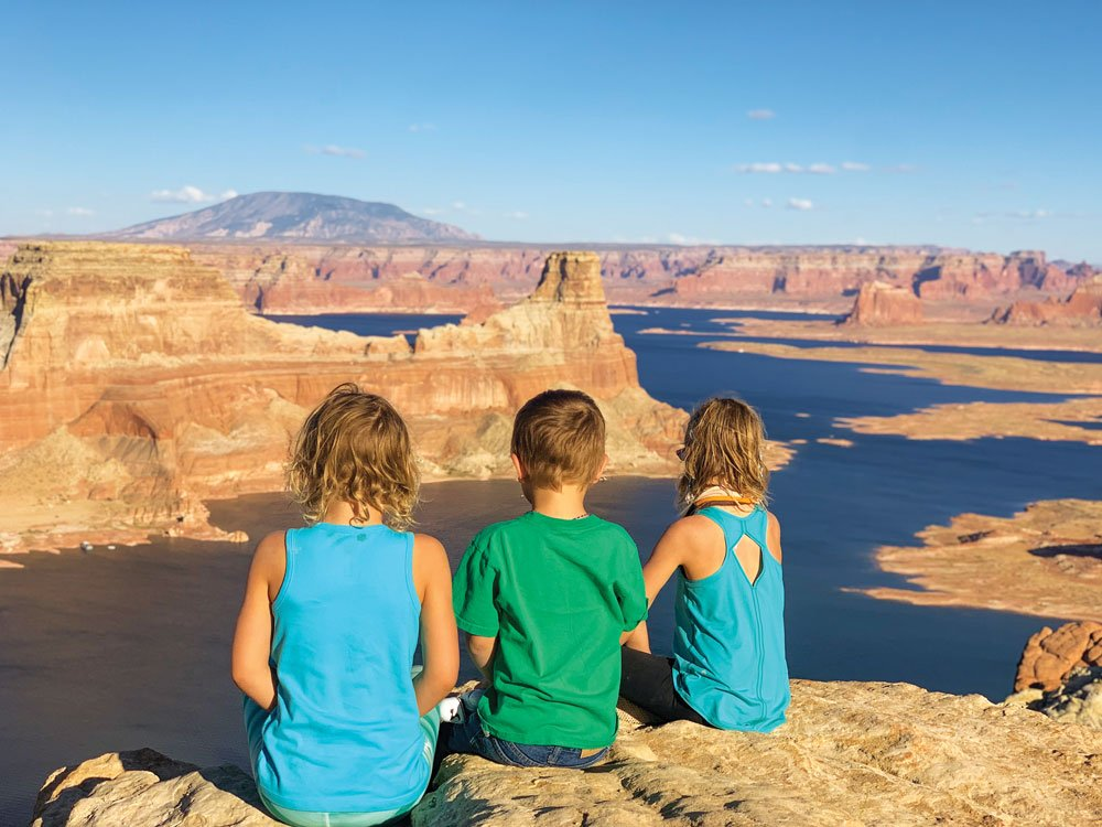 Many memories are made when you travel with kids