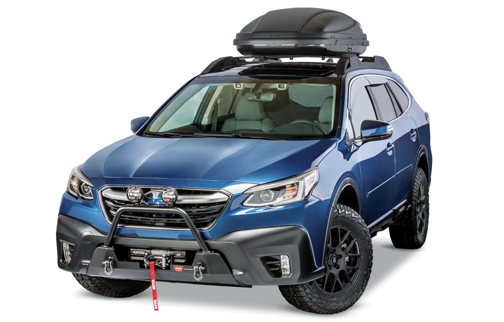 Outdoor automotive accessories: WARN Semi Hidden Kit for 2020 Subaru Outback